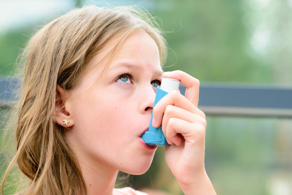 Managing Asthma Flare-Ups Image