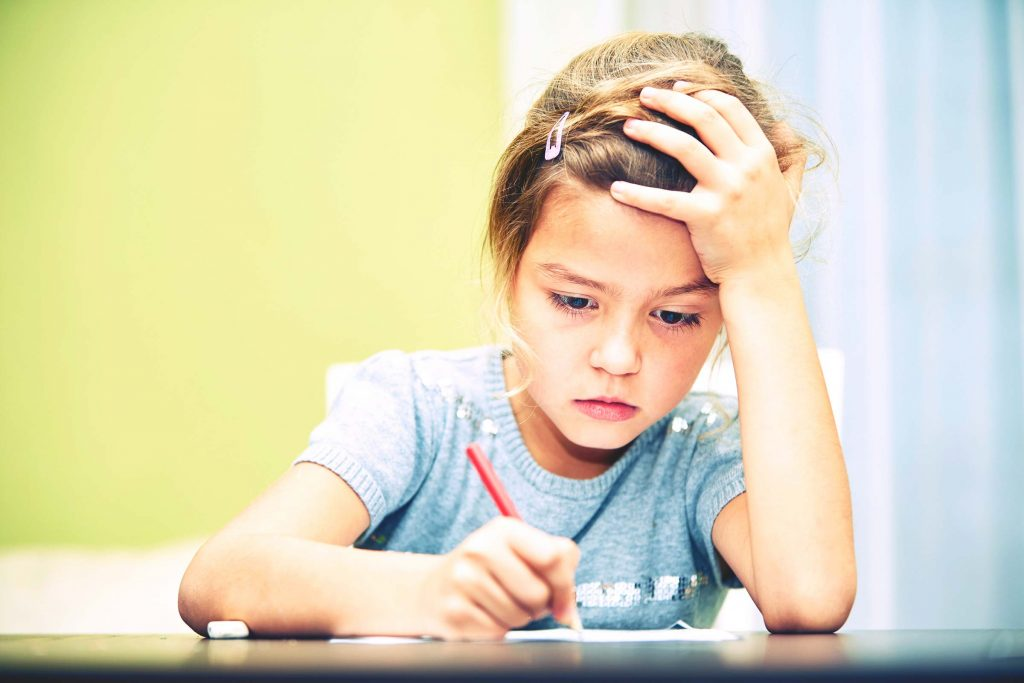 child clinically depressed